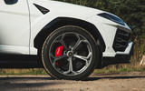 Lamborghini Urus 2018 UK first drive review alloy wheels