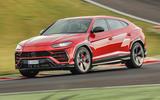 Lamborghini Urus review 2018 cornering