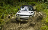 5 Land Rover Defender 90 D250 2021 UK first drive review wading