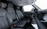 5 Land Rover Defender Hard Top Commercial 90 UK FD interior