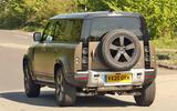Land Rover Defender V8 - spy shot