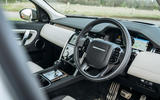 5 Land Rover Discovery P300e 2021 UK FD dashboard