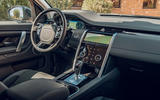 Land Rover Discovery Sport 2019 first drive review - cabin