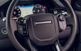 Land Rover Discovery Sport P200 2019 UK first drive review - steering wheel