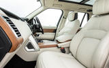 Land Rover Range Rover D350 mild hybrid 2020 UK first drive review - cabin