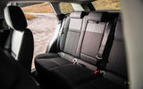 Land Rover Range Rover Evoque P200 2019 UK first drive review - rear seats