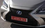 Lexus ES 2019 first drive review - nose