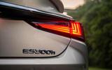 Lexus ES 300h 2018 review rear lights