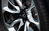 5 Lexus LC500 2021 UK FD alloy wheels