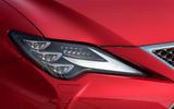 Lexus RC 300h 2019 first drive review - headlights
