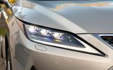 5 Lexus RX 450h L 2021 UK FD headlights