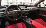 Lexus UX 250h F Sport 2018 first drive review dashboard