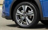 Lexus UX300e 2020 UK first drive review - alloy wheels