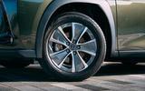 5 Lexus UX300e 2021 UK first drive review alloy wheels
