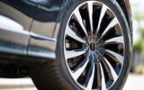 Lincoln Aviator 2020 first drive review - alloy wheels
