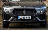Maserati Levante GranSport V6 2018 first drive - nose