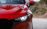 Mazda 3 2.0 Skyactiv-G 2019 first drive review - headlights