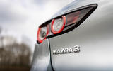 5 Mazda 3 e Skyactiv X 2021 UK fd rear lights