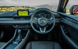 Mazda 6 2018 first drive review dashboard