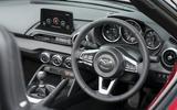 Mazda MX-5 2.0 Sport Tech 2020 UK first drive review - dashboard