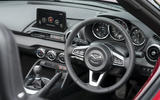 Autocar writers car of 2020 - Mazda MX 5 dashboard