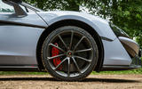 McLaren 570S Spider Track Pack 2018 UK review alloy wheels