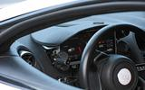 McLaren Sports Series Hybrid prototype dash