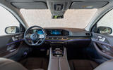 Mercedes-Benz GLS 400D 2019 first drive review - dashboard