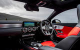 Mercedes-AMG CLA 35 Shooting Brake 2020 UK first drive review - cabin