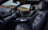 Mercedes-AMG GLE 53 2020 UK first drive review - cabin