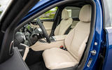 5 Mercedes Benz C Class C300e 2021 review cabin