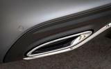 Mercedes-Benz C-Class C200 AMG Line 2018 UK review exhausts