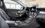 Mercedes-Benz C-Class C 300de estate 2018 first drive review - cabin