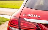 Mercedes-Benz C300e 2020 UK first drive review - rear lights