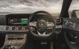 Mercedes-Benz CLS 450 2018 UK review steering wheel