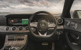 Mercedes-Benz CLS 450 2018 UK review steering wheel