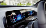 Mercedes-Benz EQC 2019 first drive - instruments