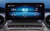 5 Mercedes Benz EQV 2021 LHD first drive review infotainment