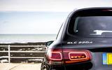 Mercedes-Benz GLC 220d 2019 UK first drive review - rear lights
