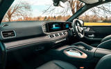 Mercedes-Benz GLE 2019 UK first drive review - cabin