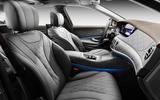 Mercedes-Benz S-Class S560e 2018 first drive review - cabin