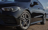Mercedes-Benz CLA Shooting Brake 220d 2020 UK first drive review - alloy wheels