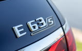 Mercedes-AMG E63 S Estate 2020 first drive review - rear badge