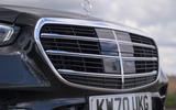 5 Mercedes S Class S400d 2021 UK FD nose