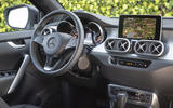 Mercedes-Benz X-Class X350d 2018 first drive review dashboard
