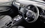 5 MG5 EV interior 2021 FD
