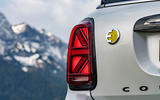 Mini Countryman Cooper S E All4 2020 first drive review - rear lights