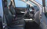 Nissan Navara 2020 UK first drive review - cabin