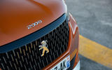 Peugeot 2008 2020 first drive review - front grille