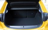 Peugeot 208 2020 prototype drive - boot